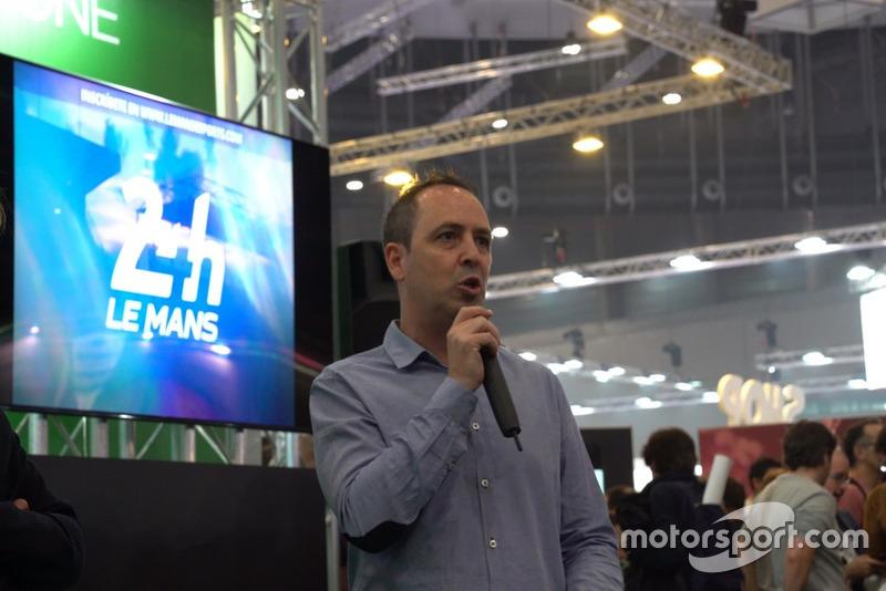 Jacobo Vega, en la Madrid Games Week