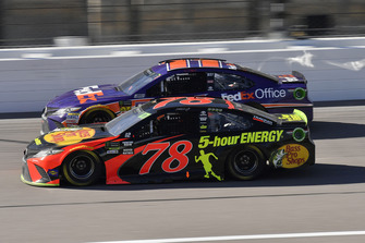 Martin Truex Jr., Furniture Row Racing, Toyota Camry Bass Pro Shops/5-hour ENERGY, Denny Hamlin, Joe Gibbs Racing, Toyota Camry FedEx Office