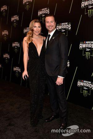 Kurt Busch, Stewart-Haas Racing y su esposa Ashley