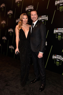Kurt Busch, Stewart-Haas Racing con la moglie Ashley
