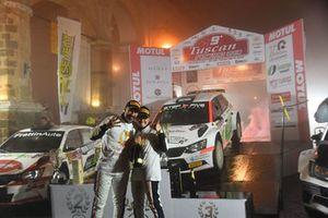I Campioni italiani Mauro Trentin e Alice De Marco, Skoda Fabia R5, Movisport