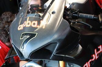 Bike von Chaz Davies, Aruba.it Racing-Ducati SBK Team