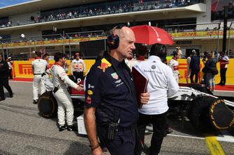 Adrian Newey, Red Bull Racing en la parrilla