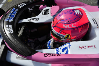 Esteban Ocon, Racing Point Force India VJM11 op de grid