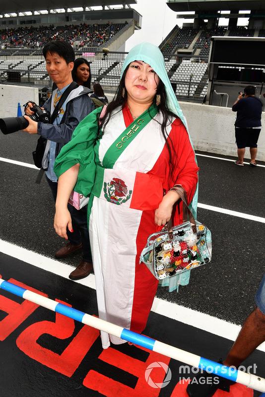 Un fan mexicano