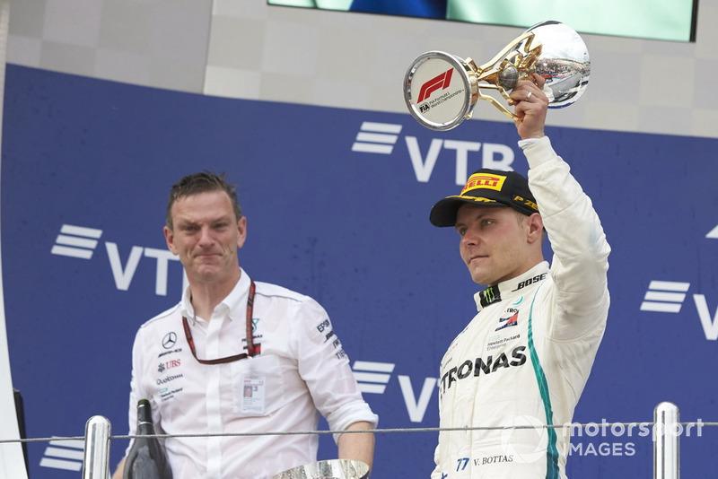 James Allison, Mercedes AMG F1, Valtteri Bottas, Mercedes AMG F1