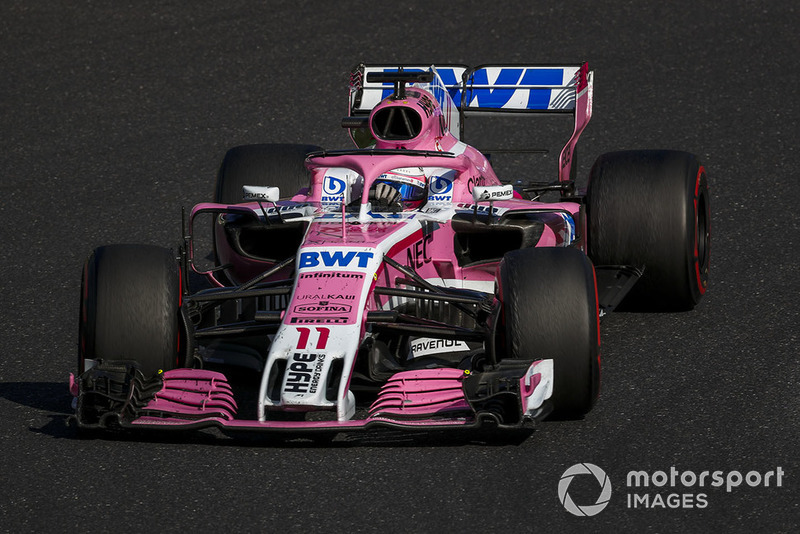 Sergio Perez, Racing Point Force India VJM11 em 2018