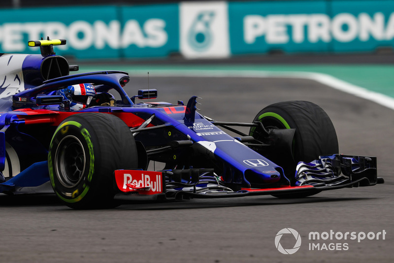 20: Pierre Gasly, Scuderia Toro Rosso STR13, no time (inc 20-place grid penalty)