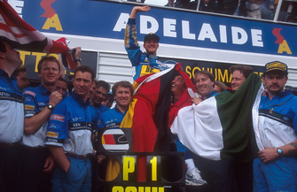 Formel-1-Weltmeister 1994: Michael Schumacher, Benetton