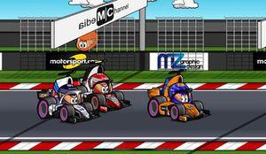 Alonso, Magnussen y Stroll, en el GP de México de Fórmula 1 2018, por MiniDrivers