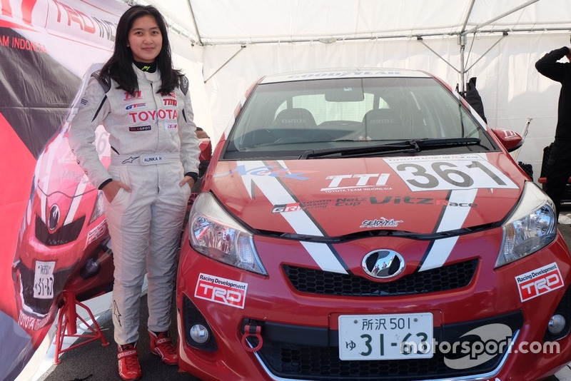 Alinka Hardianti, Toyota Team Indoneisa, Toyota Gazoo Racing
