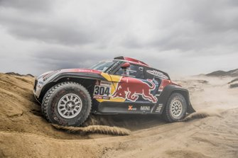 #304 X-Raid Mini JCW Team: Stephane Peterhansel, David Castera