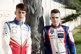 Leonardo Pulcini, Campos Racing and David Beckmann, Jenzer Motorsport