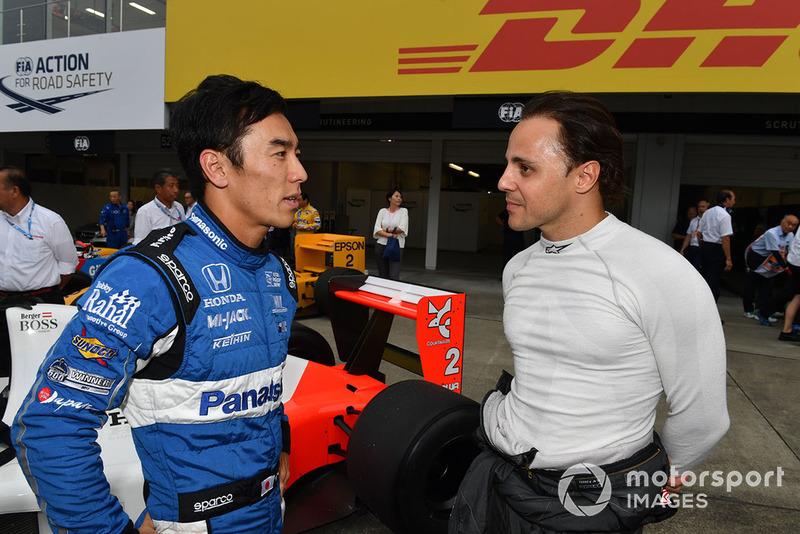 Takuma Sato és Felipe Massa