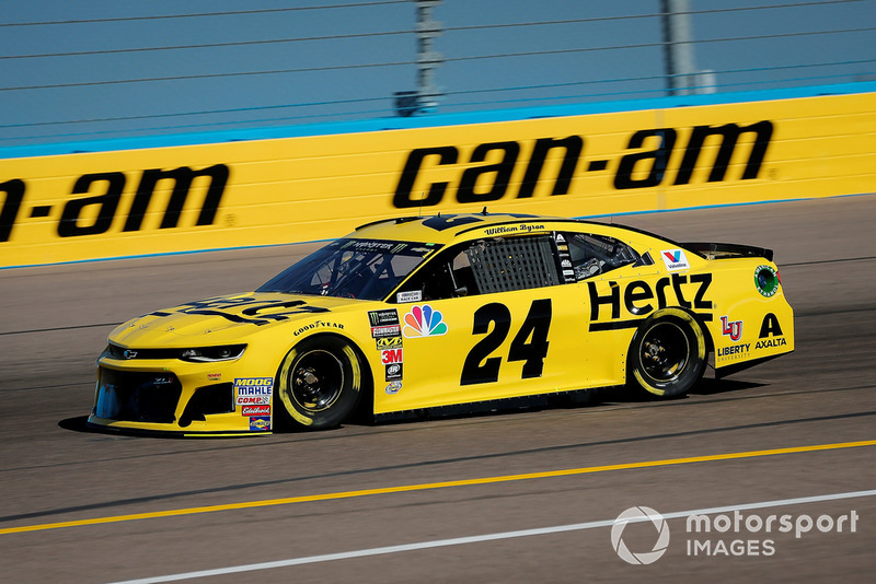 19. William Byron, Hendrick Motorsports, Chevrolet Camaro Hertz