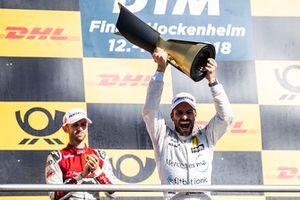 Champion Gary Paffett, Mercedes-AMG Team HWA, Vize-Champion René Rast, Audi Sport Team Rosberg