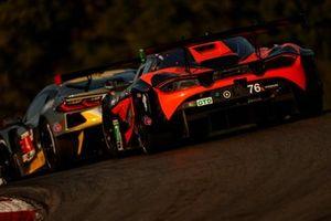 #4 Corvette Racing Corvette C8.R, GTLM: Oliver Gavin, Tommy Milner, #76 Compass Racing McLaren 720S GT3, GT3: Corey Fergus, Paul Holton