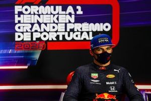 Max Verstappen, Red Bull Racing, in the post Qualfying Press Conference