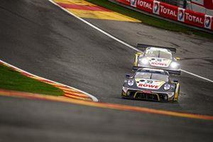 #99 ROWE Racing Porsche 911 GT3-R: Dirk Werner, Julien Andlauer, Klaus Bachler, #98 ROWE Racing Porsche 911 GT3-R: Nick Tandy, Earl Bamber, Laurens Vanthoor