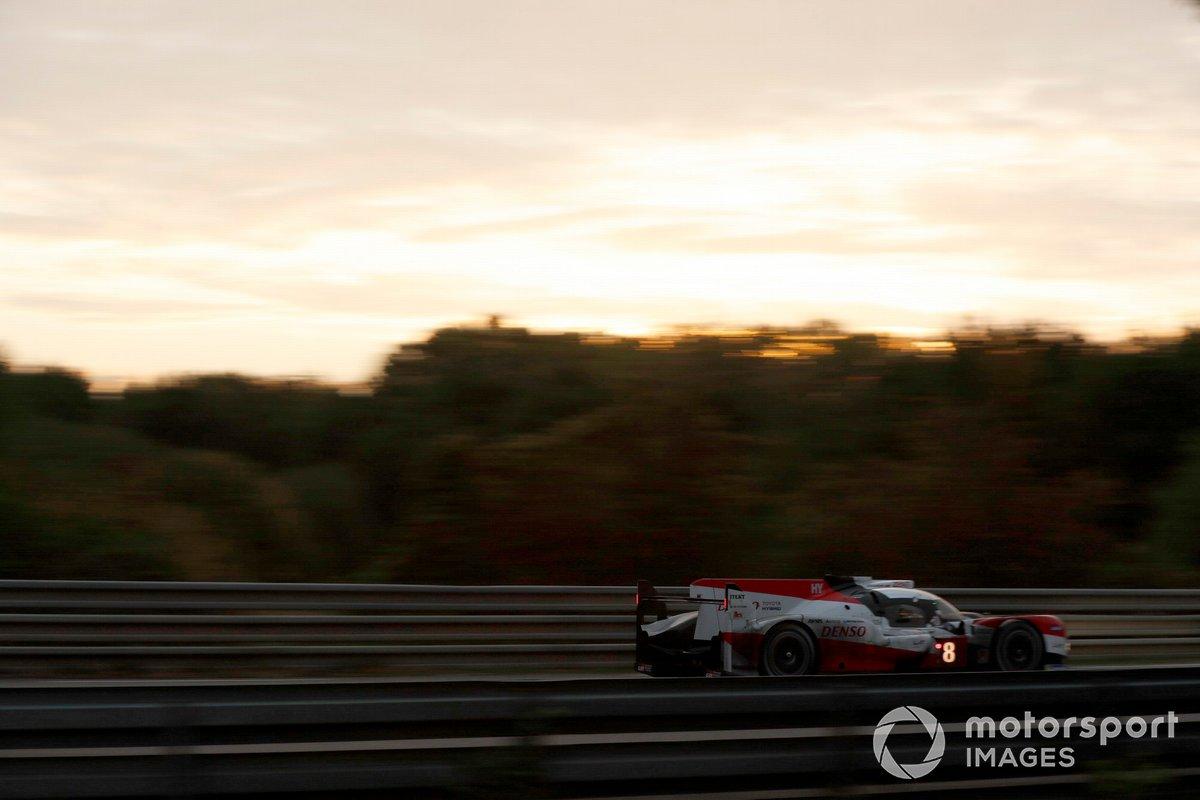 #8 Toyota Gazoo Racing Toyota TS050: Sébastien Buemi, Kazuki Nakajima, Brendon Hartley