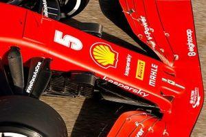 Ferrari SF1000 front wing cape detail