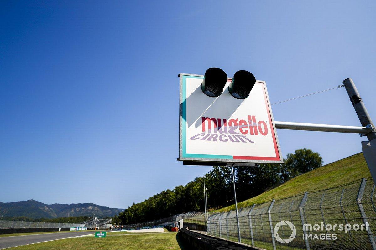 Mugello circuit branding