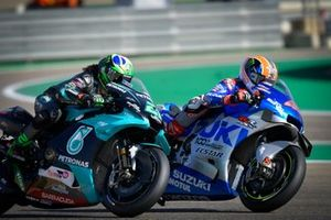 Franco Morbidelli, Petronas Yamaha SRT, Alex Rins, Team Suzuki MotoGP