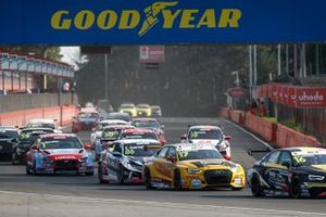 Nathanael Berthon, Comtoyou DHL Team Audi Sport Audi RS3 LMS, Esteban Guerrieri, ALL-INKL.COM Münnich Motorsport Honda Civic TCR