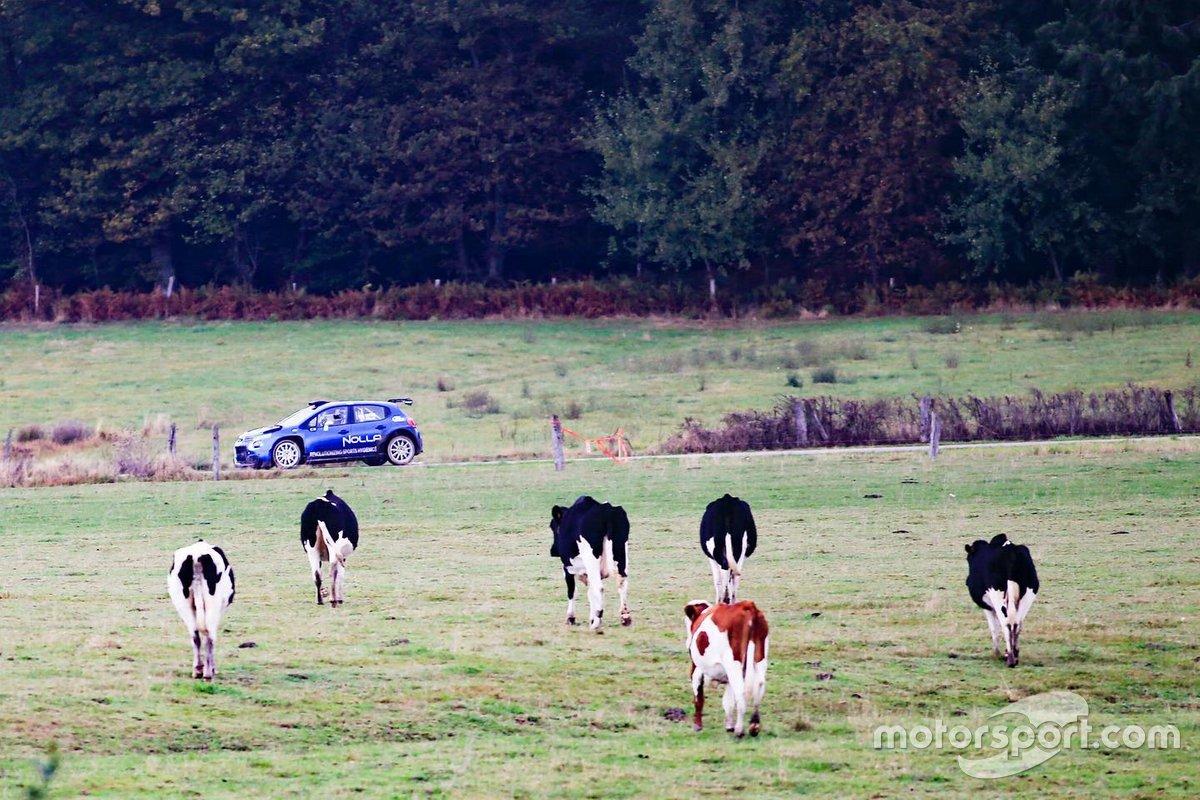 Valtteri Bottas, PH Sport testing the Citroen R5