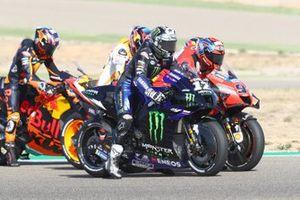 Maverick Vinales, Yamaha Factory Racing, Danilo Petrucci, Ducati Team, Stefan Bradl, Repsol Honda Team, Brad Binder, Red Bull KTM Factory Racing
