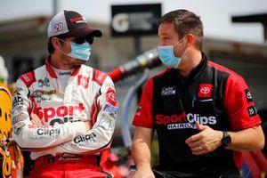 Erik Jones, Joe Gibbs Racing, Toyota Camry Sport Clips, Chris Gayle
