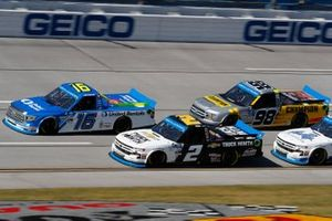 Austin Hill, Hattori Racing Enterprises, Toyota Tundra United Rentals, Sheldon Creed, GMS Racing, Chevrolet Silverado Chevy Accessories, Grant Enfinger, ThorSport Racing, Ford F-150 Champion/ Curb Records