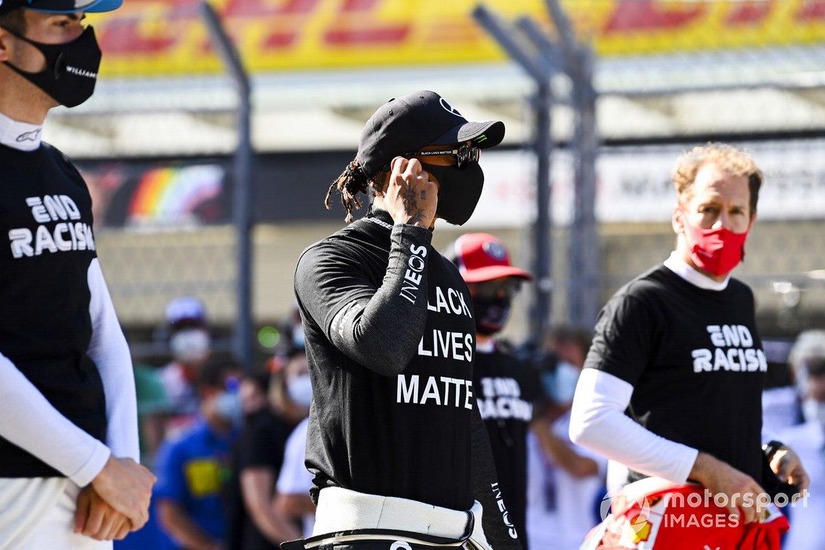 Nicholas Latifi, Williams Racing, Lewis Hamilton, Mercedes-AMG F1, Sebastian Vettel, Ferrari