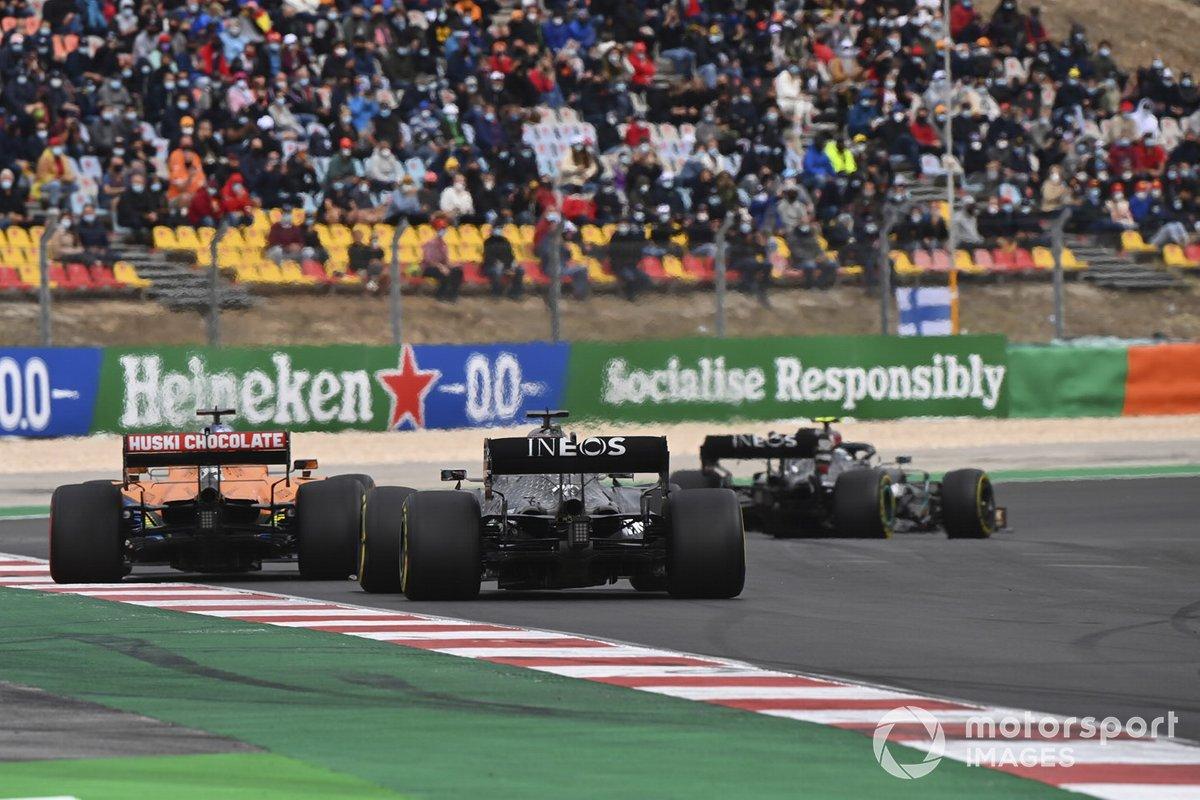 Valtteri Bottas, Carlos Sainz Jr, Lewis Hamilton