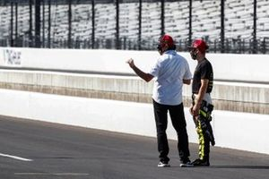 Santino Ferrucci, Dale Coyne Racing with Vasser Sullivan Honda with Jimmy Vasser
