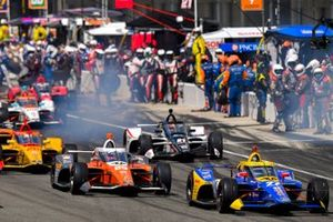 Alexander Rossi, Andretti Autosport Honda, James Hinchcliffe, Andretti Autosport Honda