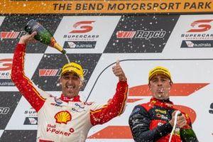 1. Fabian Coulthard, DJR Team Penske Ford, 2. Jack Le Brocq, Tickford Racing Ford