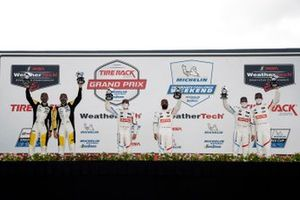 GTLM-Podium: 1. Connor De Phillippi, Bruno Spengler, 2. Oliver Gavin, Tommy Milner, 3. John Edwards, Jesse Krohn