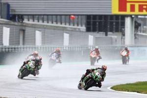 Jonathan Rea, Kawasaki Racing Team, Alex Lowes, Kawasaki Racing Team