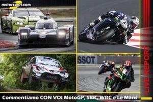 Cover Live MotoGP, WSBK, WRC, Le Mans