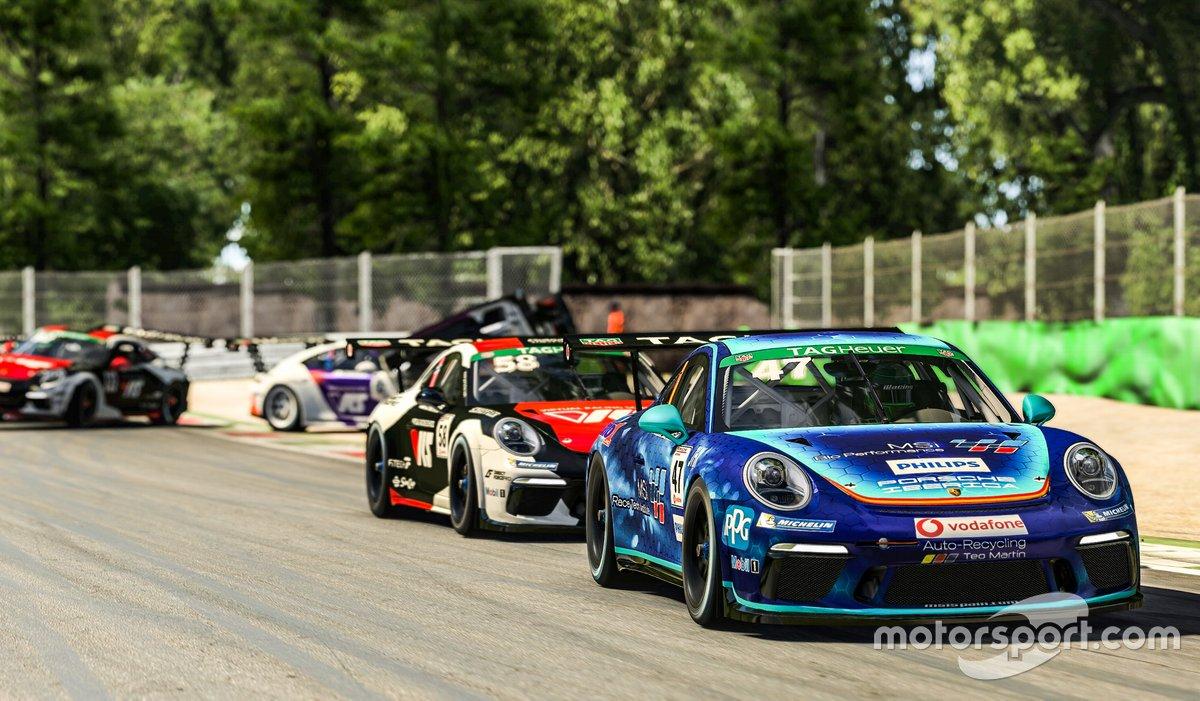 Carrera final de la Porsche Esports Supercup 2020