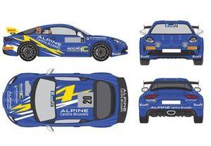 Marc Duez, Jacques Castelein, Alpine A110 Rally