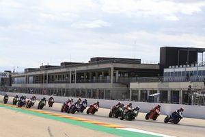 Loris Baz, Ten Kate Racing Yamaha en tête au départ