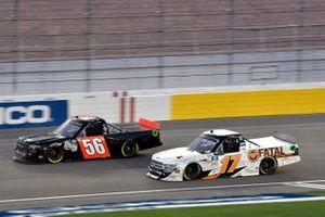 Dylan Lupton, DGR-Crosley, Ford F-150 Fatal Motorsports Tyler Hill, Hill Motorsports, Chevrolet Silverado Hill Motorsports
