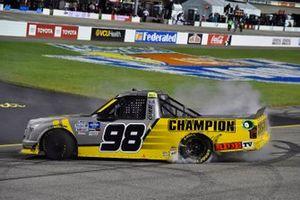 Race Winner Grant Enfinger, ThorSport Racing, Ford F-150