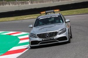 The Medical Car drives the track