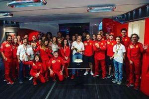 Ferrari birthday celebration