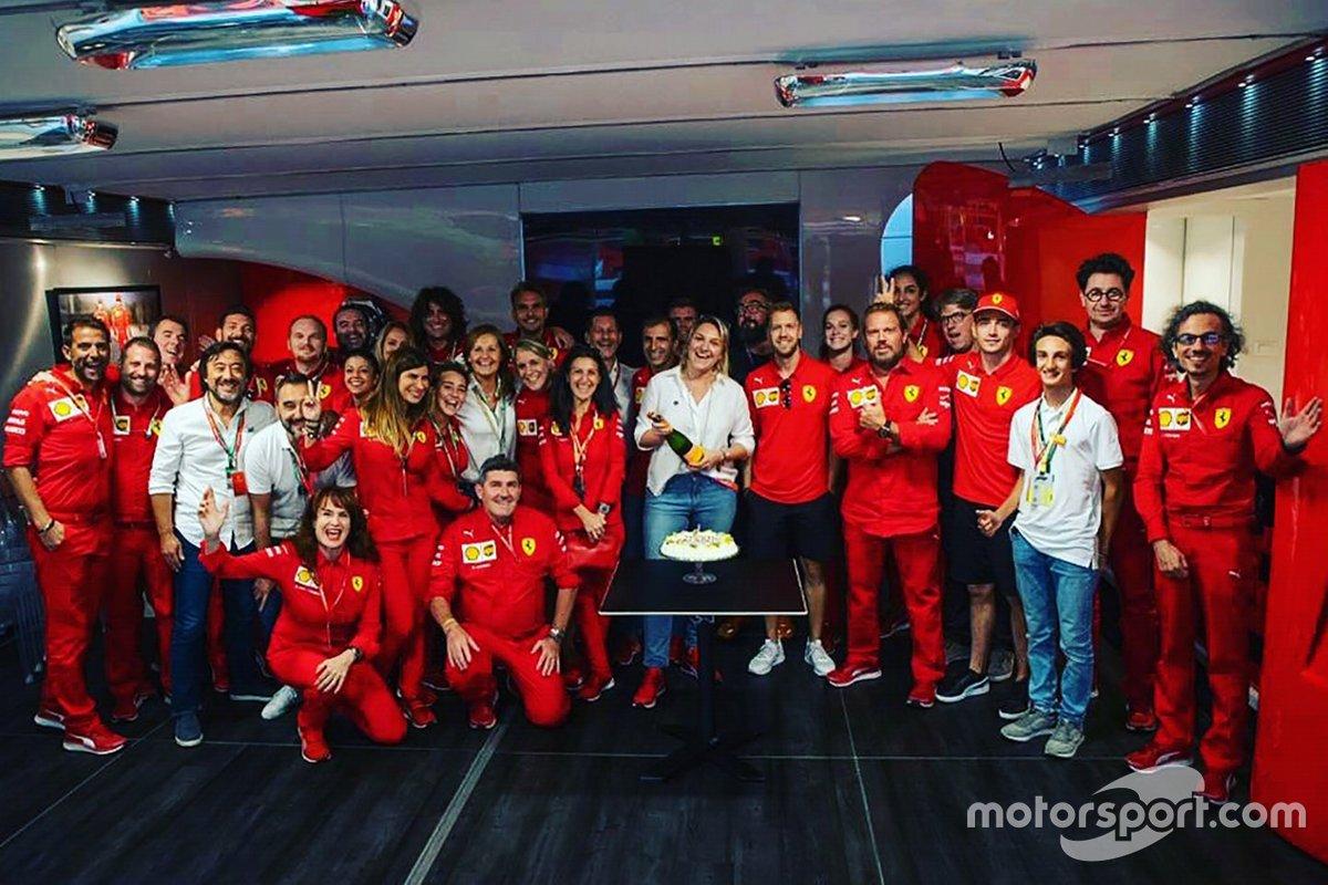 Festeggiamenti per il compleanno della Ferrari