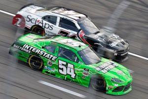 Ty Gibbs, Joe Gibbs Racing, Toyota Supra Interstate Batteries and C.J. McLaughlin, Mike Harmon Racing, Chevrolet Camaro SciAps