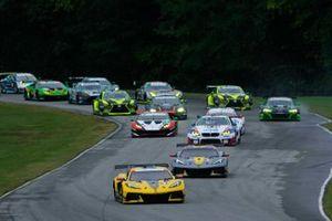 IMSA-Action auf dem Virginia International Raceway in Alton